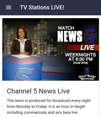 Belize News Live Streams Radio Stations You Channels Weather And More